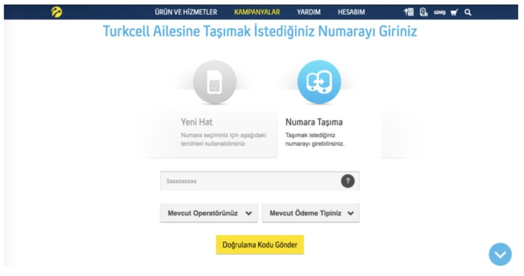 We have decreased Turkcell's CPA