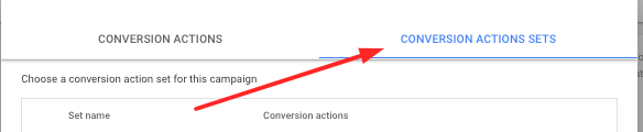 Google Ads Selective Conversion